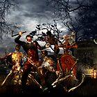 Zombie night  by Fiery-Fire