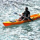 Two Men in a Boat by zarquon