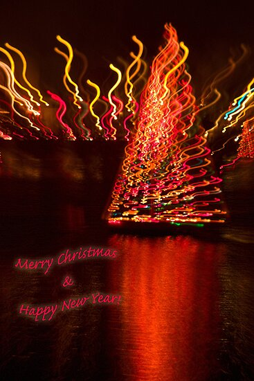 Holiday reflections - card 1 by Celeste Mookherjee
