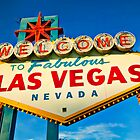 Welcome to Las Vegas sign by Garry Gay