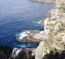 Cliffs on the Southern Coast of Tasmania by andromeda22