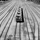 Railway tracks by VictoriaCanning