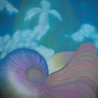 Creation- The Journey of the soul into the womb (nautilus) by Tracy Robbins