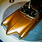 Oldsmobile Golden Rocket at General Motors Motorama 1956 by haymelter