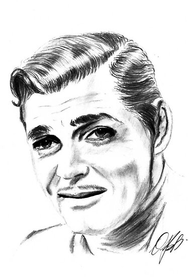 clark gable by parko