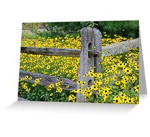 Golden Rod Crowd Out Greeting Card