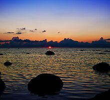 Sunset in Hiiumaa by tutulele