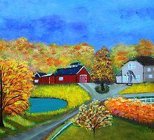 A Farm somewhere  by maggie326