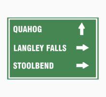 Quahog, Langley Falls and Stoolbend Kids Clothes