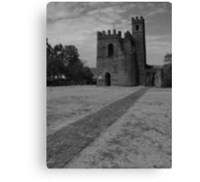 Archive of Fasilidas Canvas Print