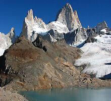 Fitz Roy massif and Laguna de Los Tres by jmccabephoto