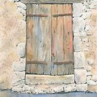 Old Door, Varaignes, France by ian osborne