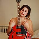 Heathers Red Guitar by redhairedgirl