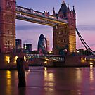 Dawn Light at Tower Bridge - London. by DonDavisUK