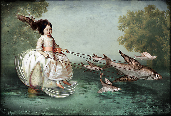 On the waterfront by Catrin Welz-Stein
