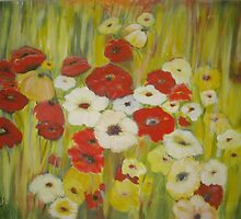 Fields of Flowers III  by Phyllis Frameli