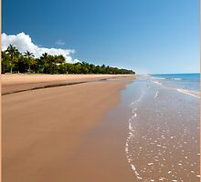 Quiet Beach, Mission Beach, FNQ by Susan Kelly