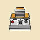 Polaroid SX-70 iPhone Case by Josh Marten
