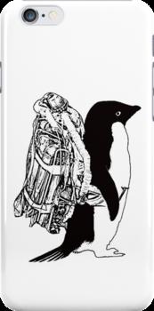 Jet Pack Penguin by Jordan Duff