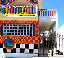 """Crayon House"" Mujeres Island, Mexico by waddleudo"