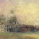 Venice Punta Dogana e Madonna della salute by Luisa Fumi