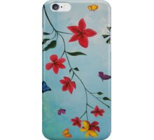 Flowers, Butterflies and Hope Iphone Case iPhone Case/Skin