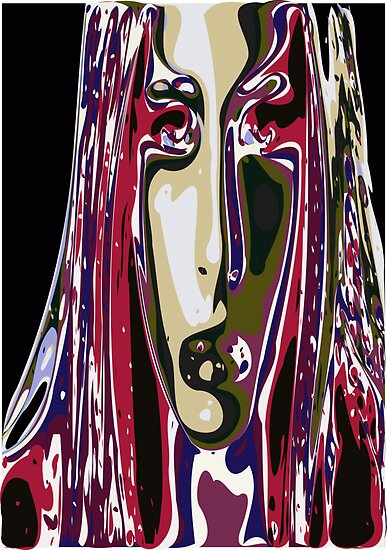 Abstract Face 5 by ChrisButler