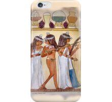 Egyptian Musicians/ PHONE CASE/TEE SHIRT/BABY GROW/STICKER/ART iPhone Case/Skin