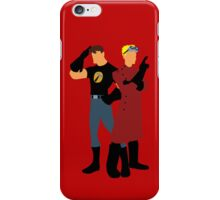 Dr Horrible - Red iPhone Case/Skin