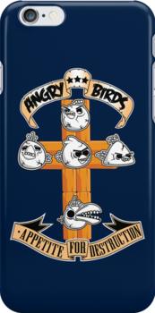 Angry Birds Appetite for Destruction by zomboy
