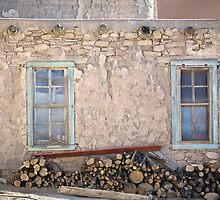 Two Windows by Glennis  Siverson