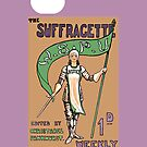 Suffragette Newspaper iPhone Case by simpsonvisuals