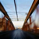 Road bridge (blurred motion) by Sami Sarkis