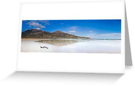 Reflection on Norman Beach, Wilsons Promontory by Christopher Ashdown