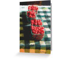 Avila Beach Tomato Baskets Greeting Card