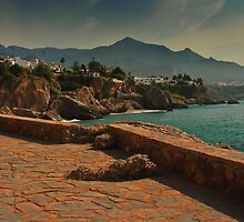 nerja coast by ioncarp