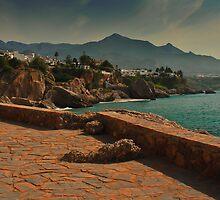 nerja coast by ioncarp