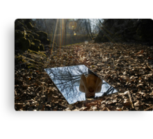 Metafore_Fear is a Reflection Canvas Print