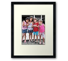 A sample of Sugar and Spice Framed Print