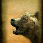 The Call of the Bear - iPhone Case by steppeland