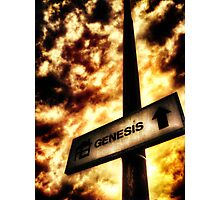 A Sign of Biblical Proportions Photographic Print