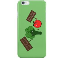 Vegetarianism is Murder iPhone Case/Skin
