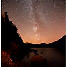 Lakeside Milky Way by Beverly Cash