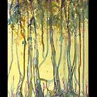 Mystical Forest iPhone and iPad case by Dianne  Ilka