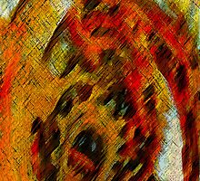 Primal Scream I Phone Case by Diane Johnson-Mosley
