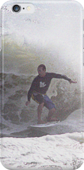 Surfer iPhone case4 by andytechie