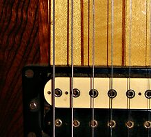 Guitar Strings (iPhone case) by virginian