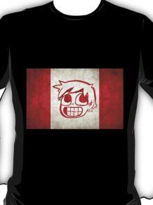 Scott Pilgrim Canada flag edition T-Shirt