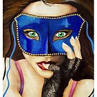 The Masquerade Invitation by Sandra Gale