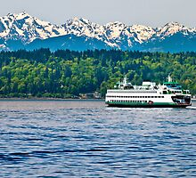 Edmonds to Kingston Ferry by Chris Rusnak